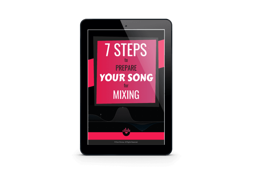 7-Steps-To-Prepare-Your-Song-For-Mixing-Free-ebook-Tablet-mobile-mockup