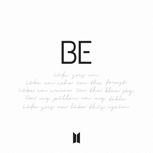 BTS - BE Album Artwork